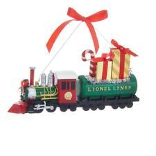 "NEW 7"" Kurt Adler Long Lionel Lines Train Christmas Ornament LN1191"