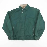 Vintage MEMBERS ONLY Green Casual Harrington Jacket Men's Size Large