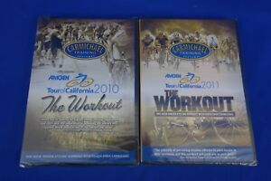 New *2 Pack*  CTS Carmichael Training Systems DVD Tour of California 2010 & 2011