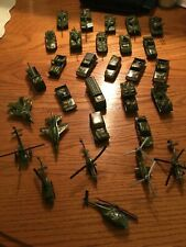Really Cool Vintage Metal Army Tanks, Jeeps, Trucks,Jets & Helicopters!