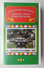 LEICESTER SECTION GRAND UNION & RIVER SOAR VIDEO VHS 57 MINS VIDEO ACTIVE CANALS