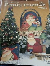 Decorative Tole Painting Pattern Book Frosty Friends