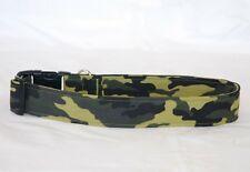 "1.5"" Large Snap Dog Collar Camo"