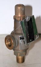 "1/2""  Bronze Pressure Relief Valve  (15 Set)  Dresser Industries 1488"