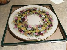 Lenox Colonial Christmas Wreath Issue Connecticut, The Fifth Colony 1985 plate