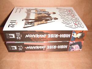 High-Rise Invasion Omnibus Vol. 4,6 Manga Graphic Novels Set English