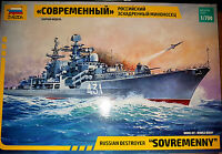 Russian Destroyer Sovremenny Cacciatorpediniere - Zvezda Kit 1:700 9054 Nuovo