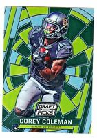 2016 Panini Prizm Draft STAINED GLASS REFRACTOR #95 COREY COLEMAN RC Browns