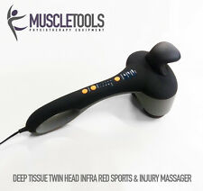 MUSCLETOOLS Handheld Double-head Sports Body Massage Massager Tendonitis Relief
