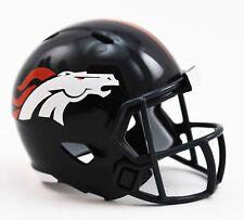 DENVER BRONCOS NFL Cupcake / Cake Topper Mini Football Helmet