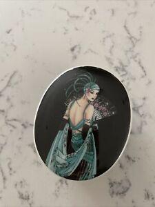 Art Deco Picture Trinket /jewellery