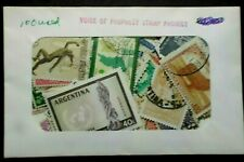 Worldwide lot of 100 all different sealed envelope #20143
