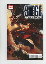 Siege Spider-Man #1 - Regular and Variant Cover Lot of 2 - (Grade 9.2) 2010