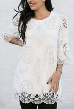 Womens Lace Tunic top,Size 18/20,SIMPLY COUTURE DESIGN,US 2XL,BNWT