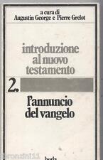 Introduzione al Nuovo Testamento L. D. Xavier  C. Perrot - Borla, 1984