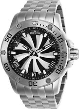Invicta Men's 25847 Speedway Automatic Chronograph Silver, Black Dial Watch