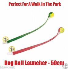 Dog Tennis Ball Launcher Thrower Chucker Toy Pets Pet Outdoor Active Long Lobber