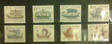 POLAND STAMPS MNH 2Fi1413-20 Sc1299-06 Mi1562-6 - Sailboats,1965, clean