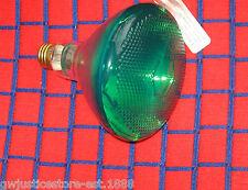 100 Watt Green 130V outdoor flood 100w Light Bulb Par38 pyrex Br38 incandescent
