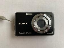 Sony Cyber-shot DSC-W230 12.1MP Digital Camera Black