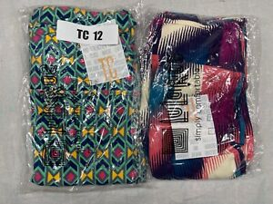 2 Pair Tall and Curvy LuLaRoe Leggings TC 12