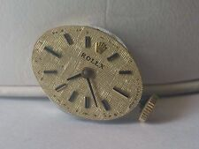 Vintage Rolex Lady Cal 1400 Wrist Watch Movement with Dial Ticks ASIS #29-4