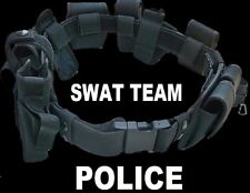 Swat Team Police Duty Belt Officer Security Guard Law Enforcement Equipment Gear