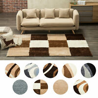 Living Room Modern Contemporary Geometric Area Rug Runner Accent Mat Carpet
