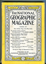 National Geographic Magazine March 1954 Georgia No Map VG 071316jhe