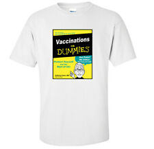 Vaccinations For Dummies Book Parody T-Shirt   Dr. Anthony Fauci