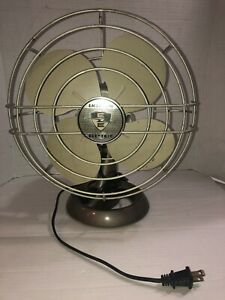 Emerson Electric Oscillating Fan Vintage Antique Single Speed Smooth Nice!