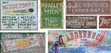Ho Scale Ghost Decals Set # 29 Building, Fences, Walls, Milk, Beer, Gum, Soda