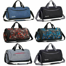 "18""/20"" Duffle Bag Gym Sport Travel Workout Bag Waterproof Carry-on Luggage Men"