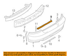 MITSUBISHI OEM 99-03 Galant REAR BUMPER-Center Reinforcement MR349675
