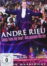 ANDRE RIEU - SONGS FROM MY HEART  -   DVD - PAL Region 2 - New