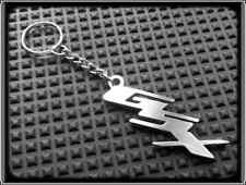 KEYRING for SUZUKI GSXR GSX-R - STAINLESS STEEL - HAND MADE - CHAIN LOOP FOB