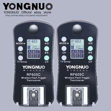 YONGNUO RF-605 = RF-602+ RF603 Wireless Flash Trigger for Canon