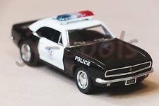 1967 Chevrolet Camaro Z-28 die-cast police car [1:37]