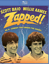 Zapped (Blu-ray Disc, 2016) NEW & FACTORY SEALED  Scott Baio  Willie Aames