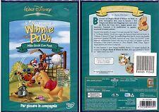 WINNIE THE POOH: MILLE GIOCHI CON POOH - DVD DISNEY, NUOVO E SIGILLATO