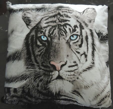 Filled Cushion Photographic Printed | Blue Eyes Tiger