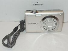 Nikon Coolpix S4000 12 MP Digital Camera 4x Optical Vibration Reduction silver