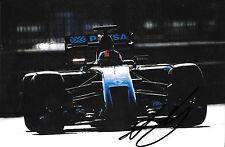 Alex Lynn SIGNED ,F1 Lotus-Renault E22 Test Abu Dhabi , Nov 2014 , GP3 Champion