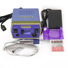 Professional Manicure Electric Drill File Nail Art Pen Machine Kit 30000RPM US