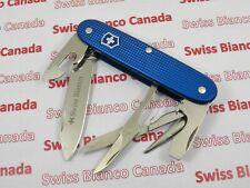 Swiss Bianco Exclusive Victorinox Pioneer X Blue Alox Swiss Army Knife