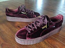 Puma Fenty Rihanna Velvet Creeper Royal Purple 364639 02 Men's Size 12