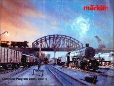 EE 2000/2001 DI Marklin Total Catalog 2000 2001 VG Condition