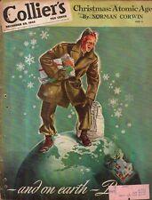 1945 Colliers December 29 - Dachshund; Alabama Football; Colon MI; China; Legs