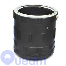 Macro Extension Tube Lens Ring For Canon EF EOS 1100D 550D 600D 1000D 500D 50D