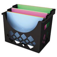 UNIVERSAL Recycled Desktop File Holder Plastic 13 1/4 X 8 1/2 X 9 5/8 Black